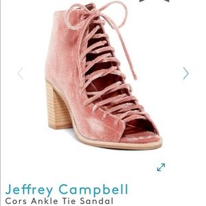 Jeffery Campbell Cors Ankle Tie Sandal/Bootie